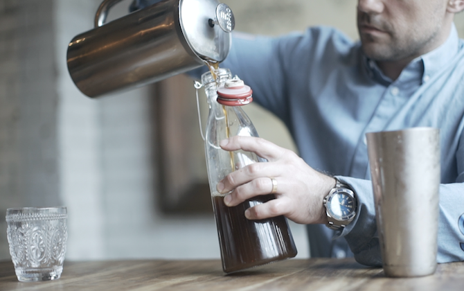 THe Grounds Roastery Cold Brew